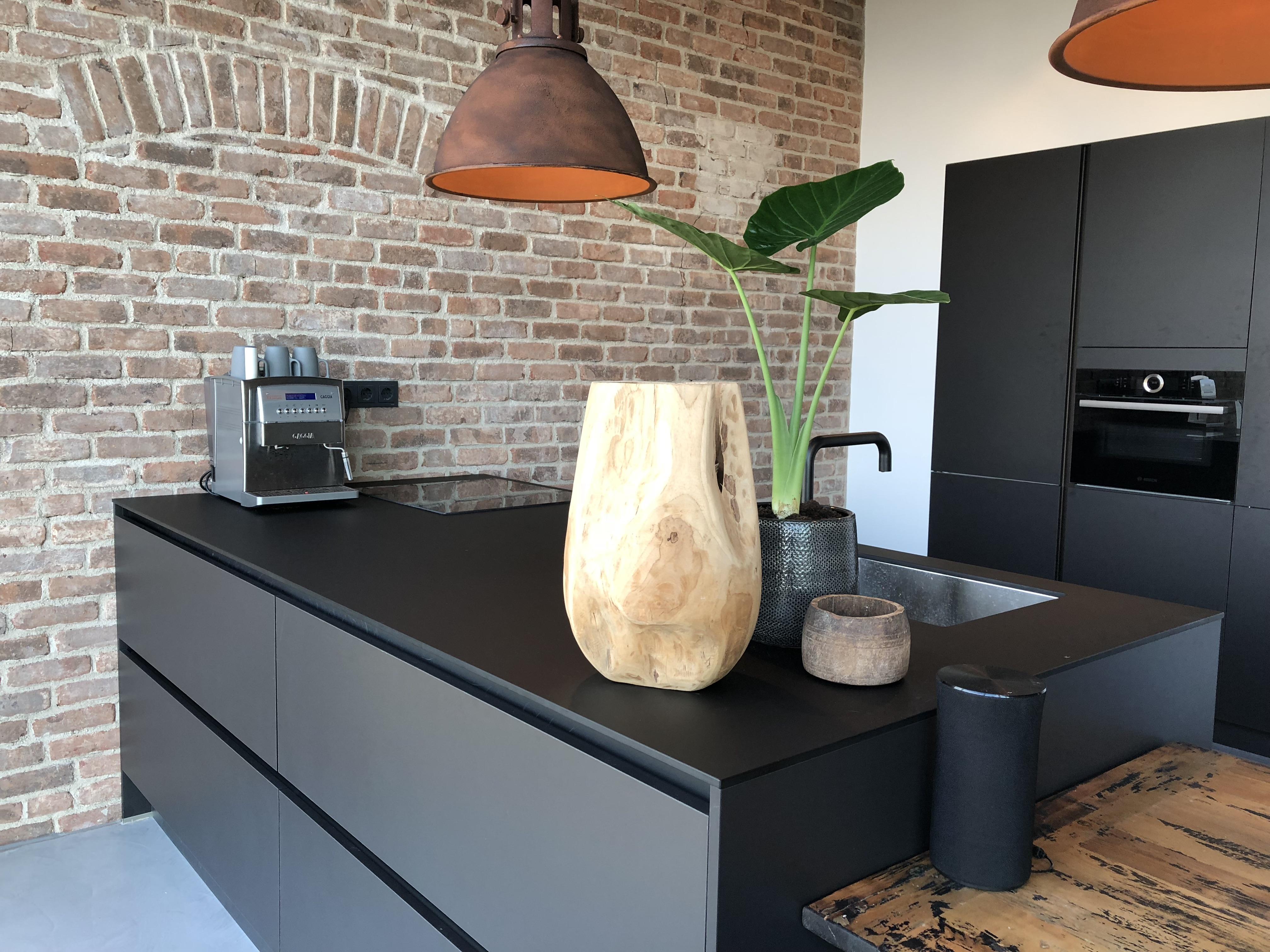 Morestyling Zwarte Keuken Hoofdkwartier